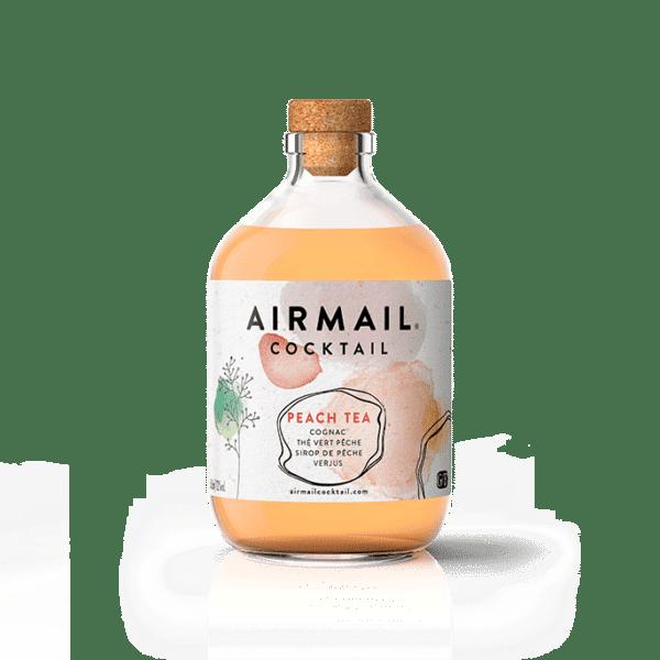 airmail cocktail packshot peach tea